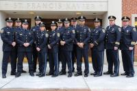 Group of Carbondale Police Officers